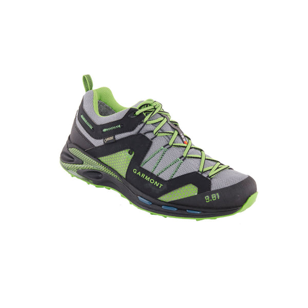GARMONT 9.81 Trail Pro III GTX Black/Green Hiking Shoes (481221/213)
