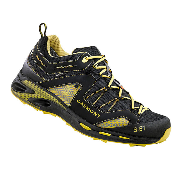 GARMONT 9.81 Trail Pro III GTX Black/Dark Yellow Hiking Shoes (481221/215)