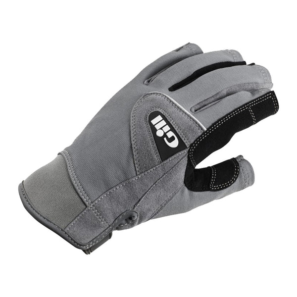 GILL Deckhands Short Finger Grey Gloves (7042G)