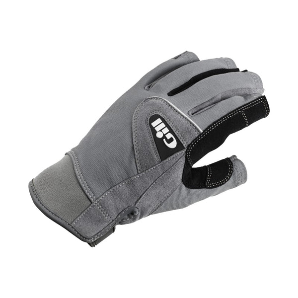 GILL Junior Deckhands Short Finger Grey Gloves (7042GJ)