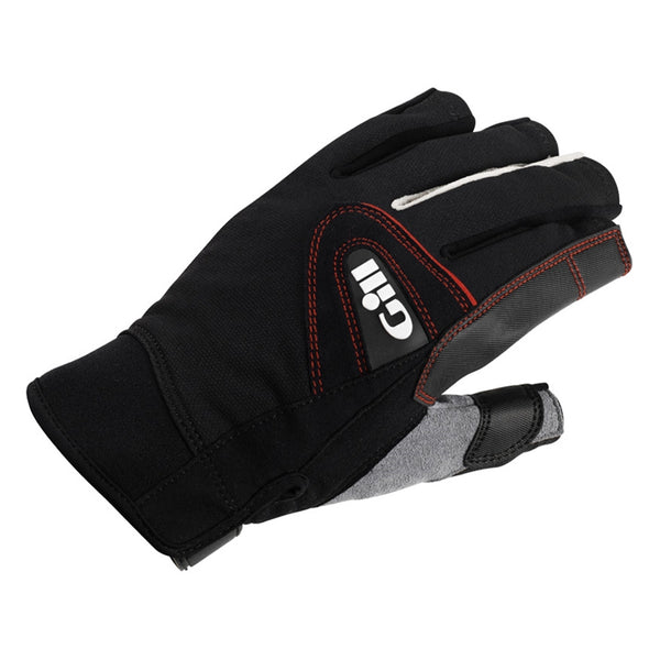 GILL Championship Short Finger Black Gloves (7242B)