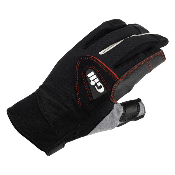 GILL Championship Long Finger Black Gloves (7252B)