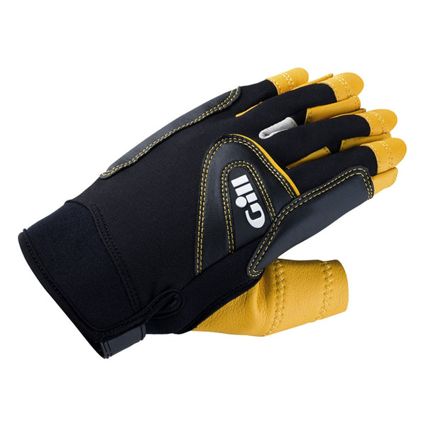 GILL Pro Short Finger Black Gloves (7442B)