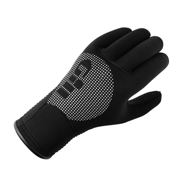 GILL Neoprene Winter Black Gloves (7672B)