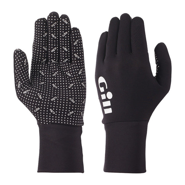 GILL Performance Fishing Black Gloves (FG22B)
