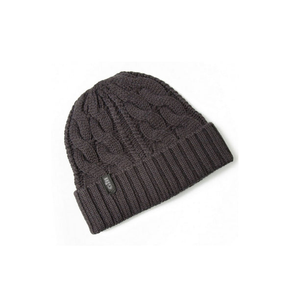 GILL Graphite Cable Knit Beanie (HT32G)