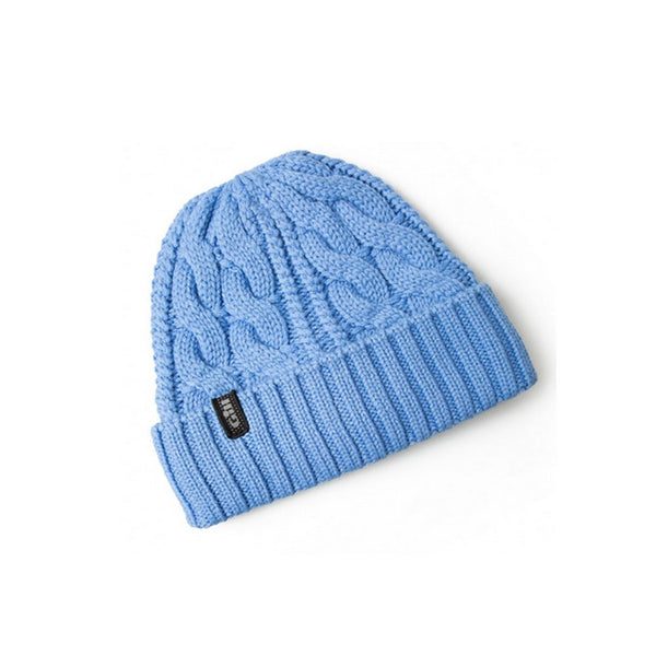 GILL Light Blue Cable Knit Beanie (HT32LB)