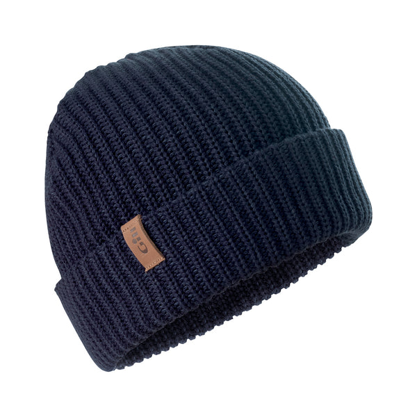 GILL Floating Navy Blue Knit Beanie (HT37NB)