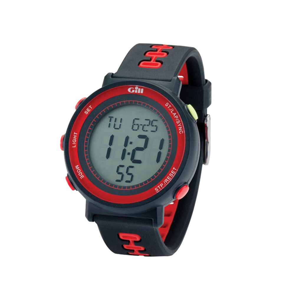 GILL Black/Red Race Watch (W013BR)