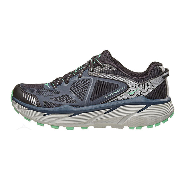 HOKA ONE ONE 1014762-MNSB Challenger Atr 3 Midnight Navy, Spring Bud Trail Running Shoes
