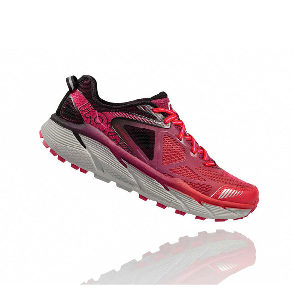 HOKA ONE ONE 1014762-NFVP Challenger Atr 3 Neon Fuchsia, Virtual Pink Trail Running Shoes