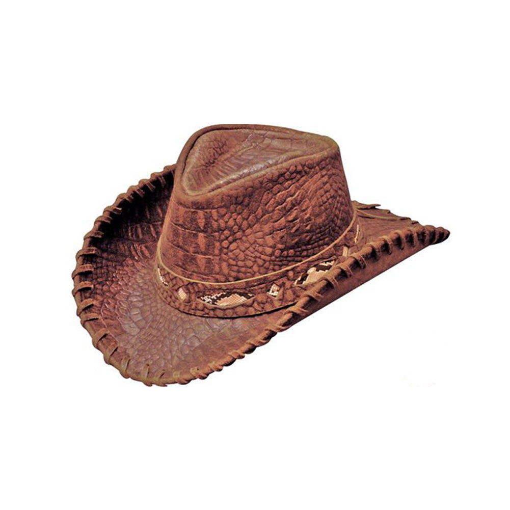 HENSCHEL HATS Brown Australian (113475-BRN)