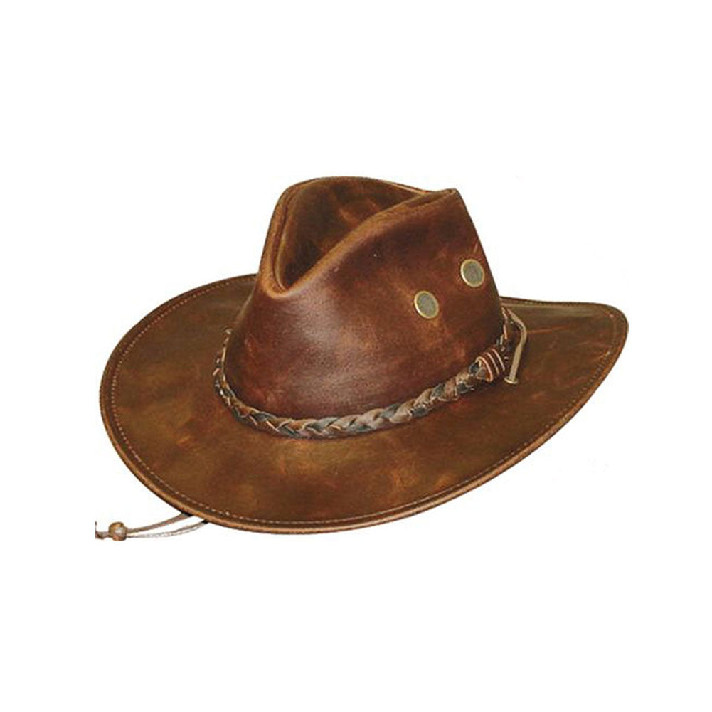 HENSCHEL HATS Chestnut Hiker Crushable (30344-CHES)