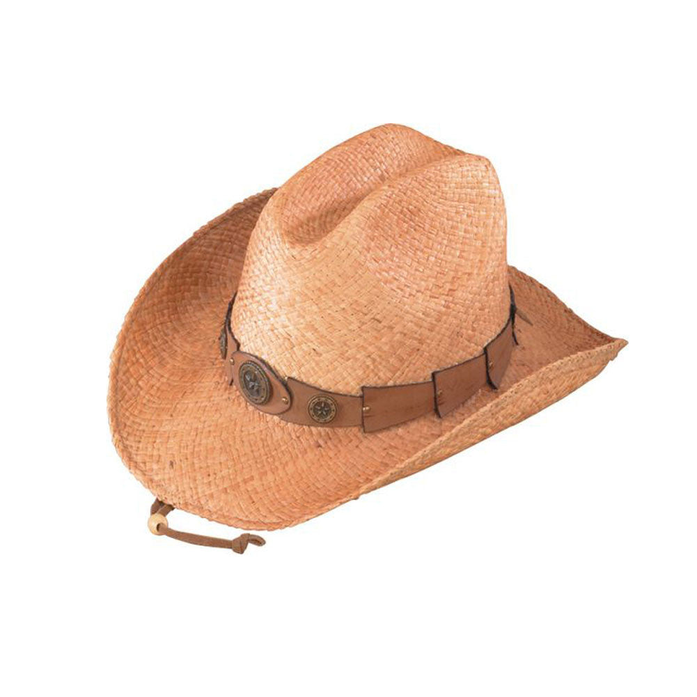 HENSCHEL HATS 323543-RAFIA Raffia U-Shape-It