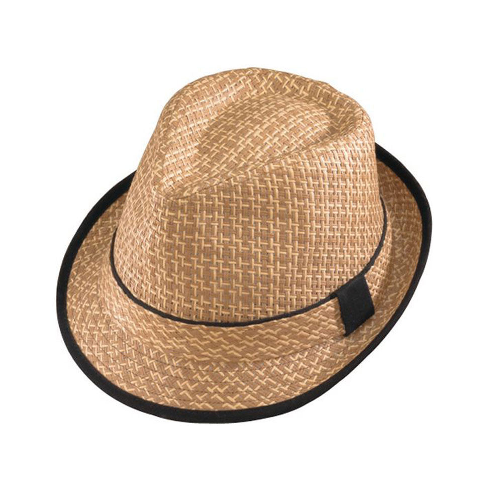 HENSCHEL HATS 330581-BRN Brown Fedora