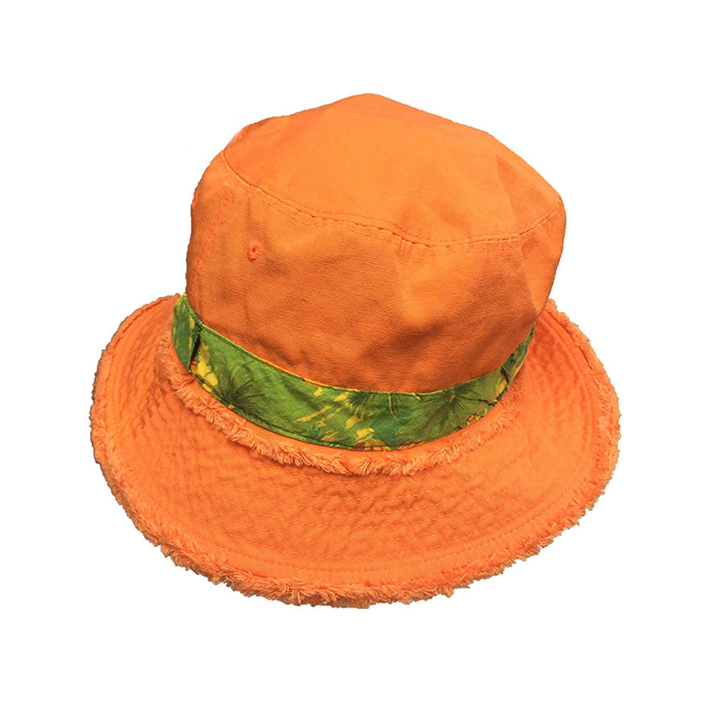 HENSCHEL HATS 336664-ORG Orange Bucket Reversible