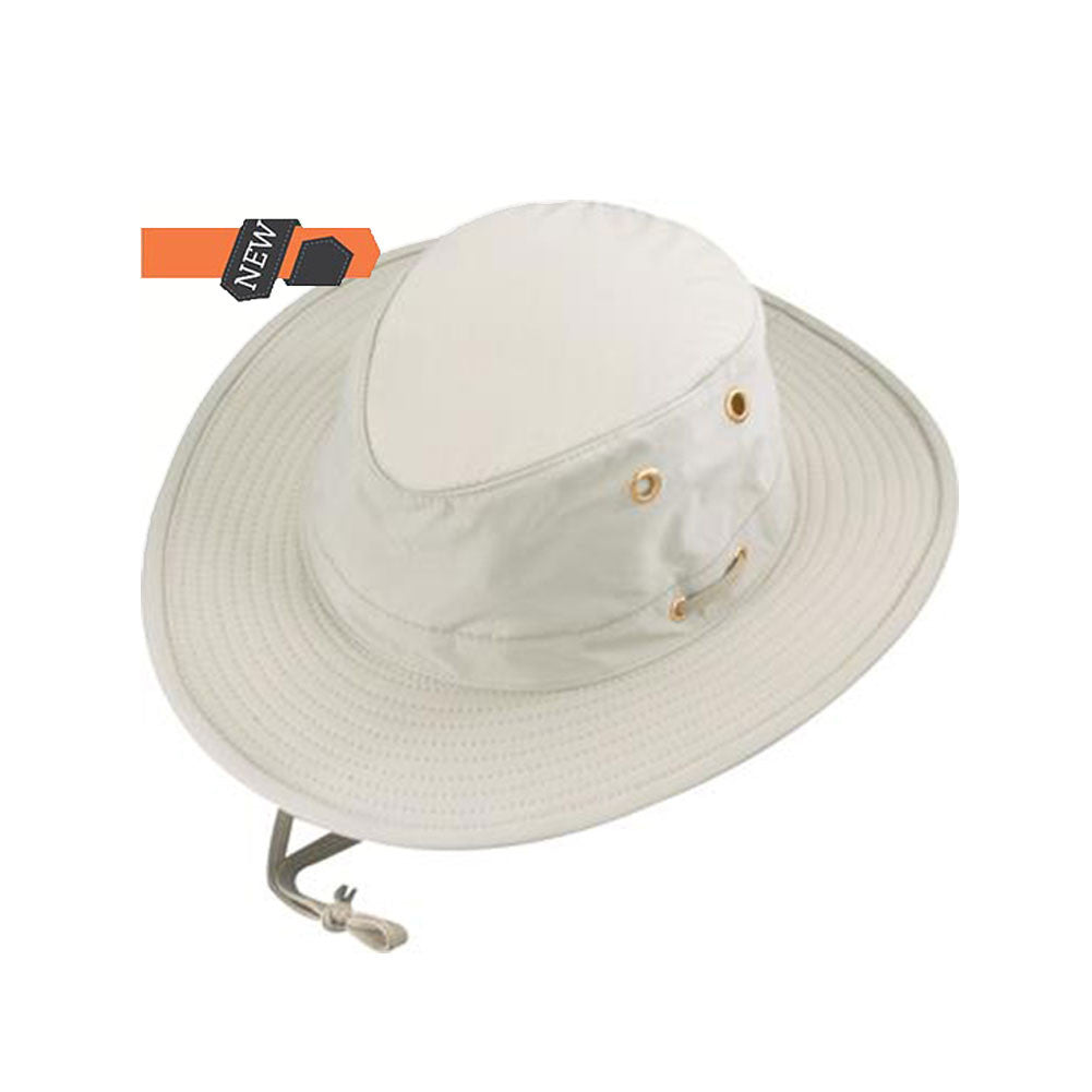 HENSCHEL HATS 555373-OYST Oyster 10 Point Hat-Solid
