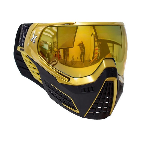HK ARMY 77670001 KLR Metallic Gold/Gold Lens Goggle