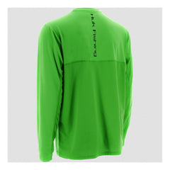 HUK Icon Neon Green Long Sleeve Shirt (H1200064NGN)