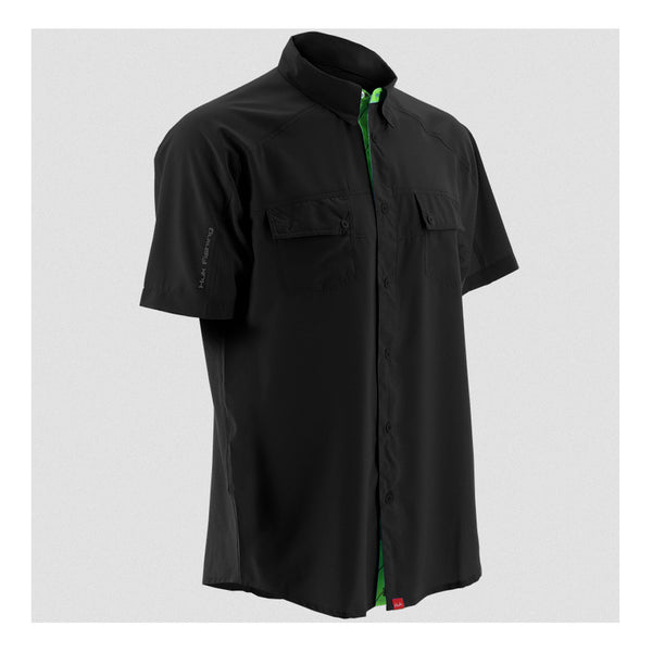 HUK Black Short Sleeve Next Level Shirt (H1500001BLK)