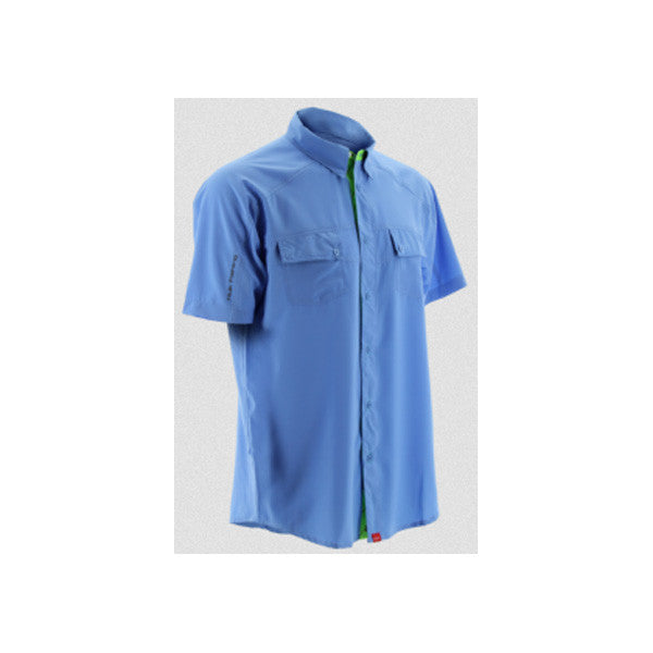 HUK Carolina Blue Short Sleeve Next Level Shirt (H1500001CBL)