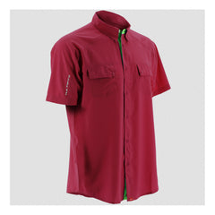 HUK Crimson Short Sleeve Next Level Shirt (H1500001CRM)