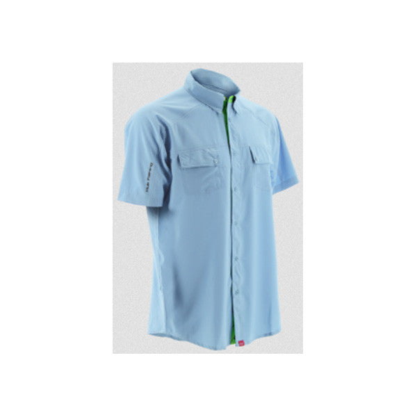 HUK Ice Blue Short Sleeve Next Level Shirt (H1500001IBL)
