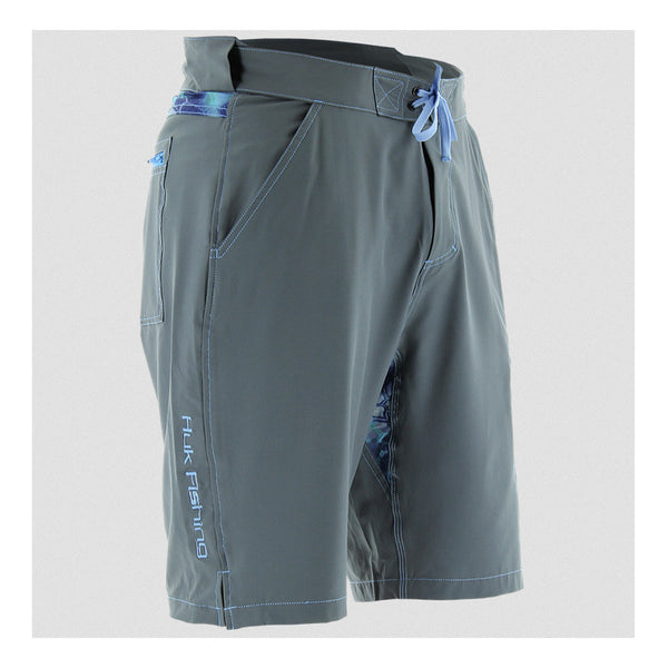 HUK Charcoal Next Level Shorts (H2000010CGY)