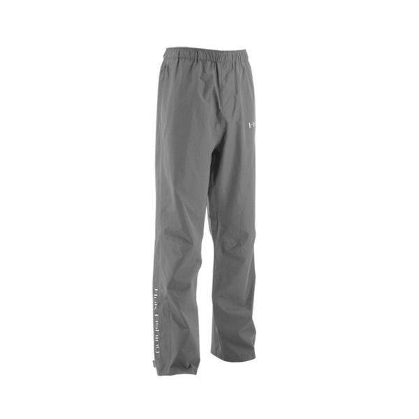 HUK Charcoal Gray Packable Rain Pant (H4000016-010)