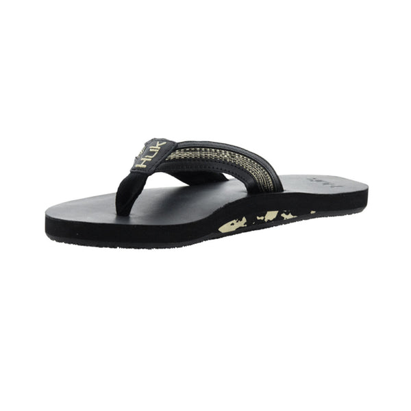 HUK Caruso Black Sandals (H8331000-001)