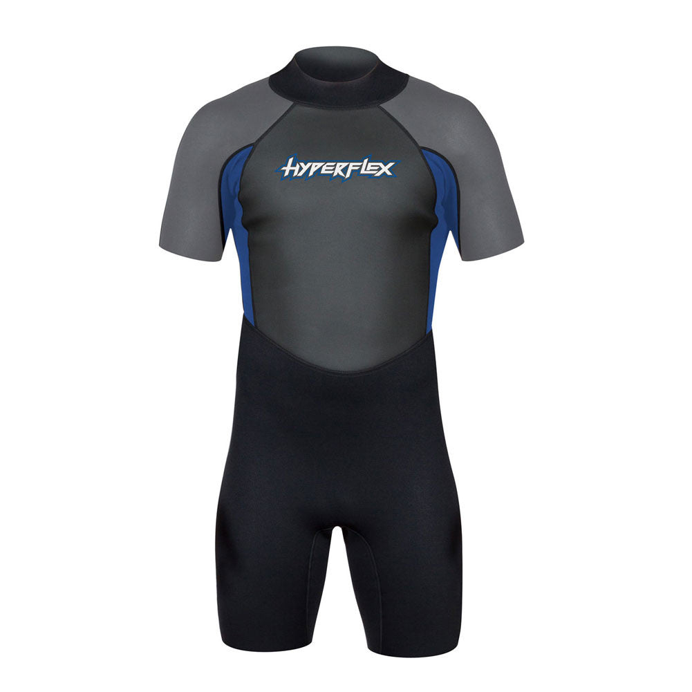 HYPERFLEX Access Spring 2.5mm Mens Black & Blue Wetsuit (XA625MB-46)