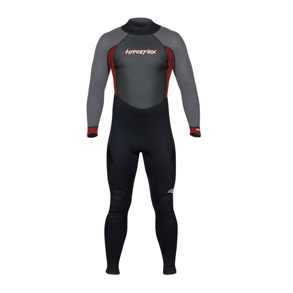 HYPERFLEX XA832MB-05 Access Full 3.2mm Mens Black & Red Wetsuit
