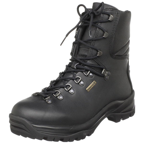 KENETREK Hard Tactical Black Boots (KE-420-TAC)