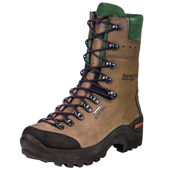 KENETREK Mountain Guide 400 Insulated Brown Hunting Boot (KE-425-G4)