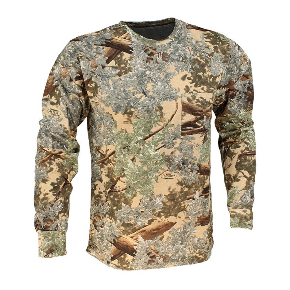 KINGS CAMO KCB104-DS Desert Shadow Long Sleeve Classic T-Shirt