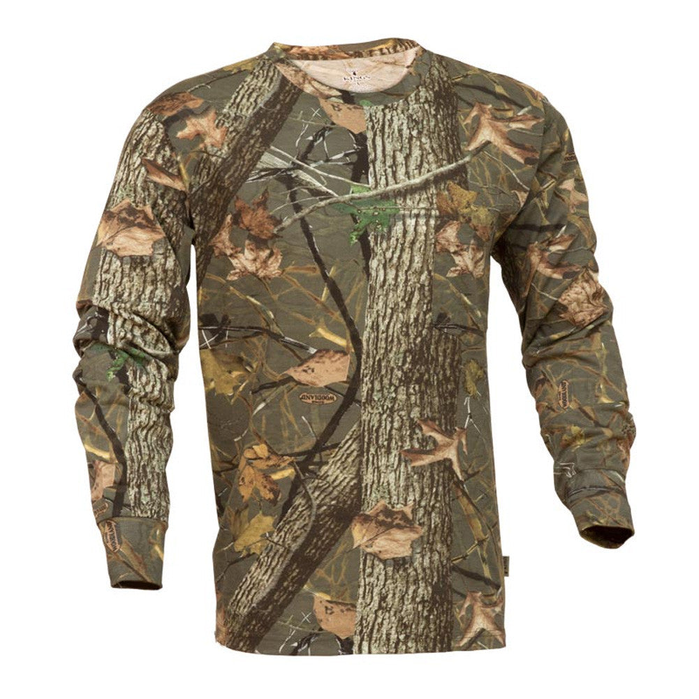 KINGS CAMO KCB104-WS Woodland Shadow Long Sleeve Classic T-Shirt