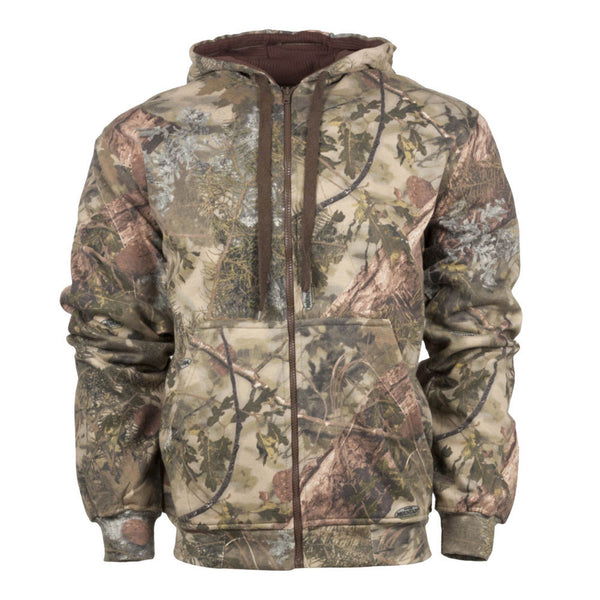 KINGS CAMO Classic Mountain Shadow Thermal Zip Hoodie (KCB117-MS)