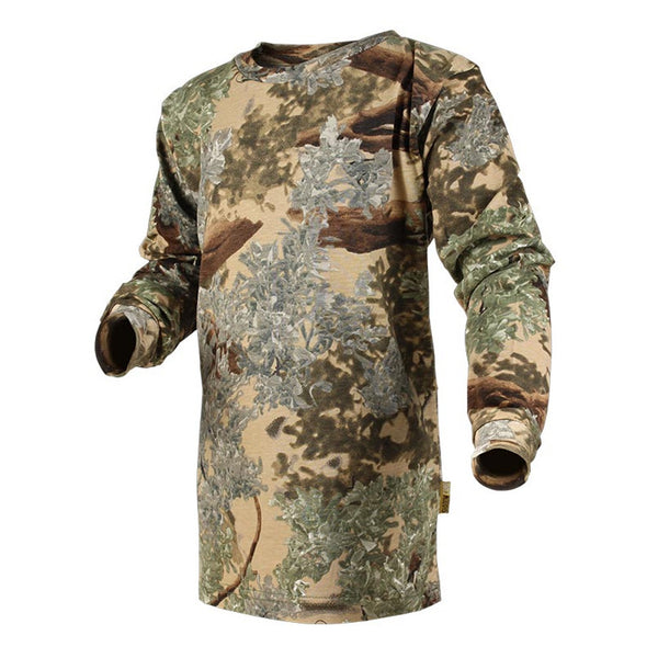 KINGS CAMO Desert Shadow Long Sleeve Kids Long Sleeve T-Shirt (KCK204-DS)