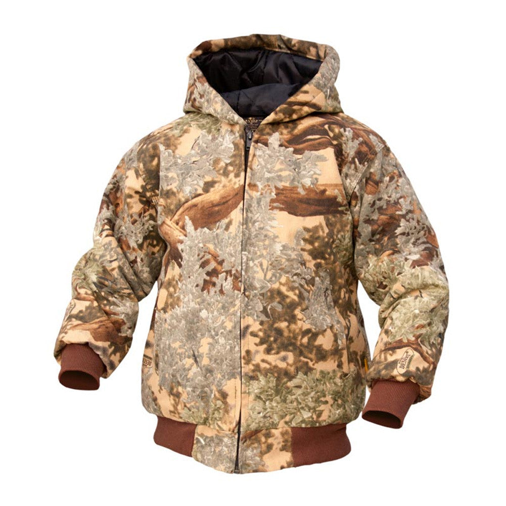 KINGS CAMO Desert Shadow Kids Insulated Hooded Jacket (KCK220-DS)