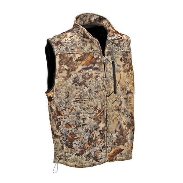 KINGS CAMO Desert Shadow Hunter Soft Shell Vest (KCM2200-DS)