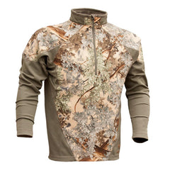 KINGS CAMO XKG Desert Shadow Long Sleeve Hightop 1/4 Zip Shirt (XKG4210-DS)