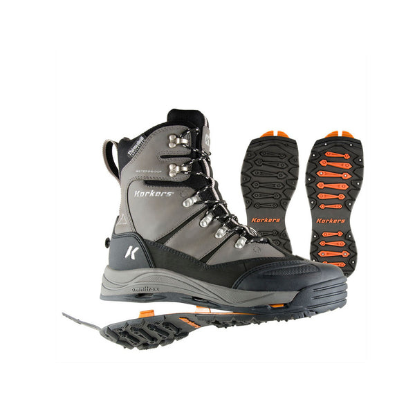 KORKERS SnowJack with SnowTrac & IceTrac Outsole Boots (OB7520GM)