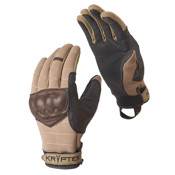KRYPTEK 15GNFATN Gunfighter Shooting Gloves