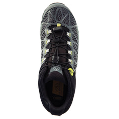 LA SPORTIVA 14P-GG Mens Synthesis Mid GTX Gray and Green Hiking Shoes
