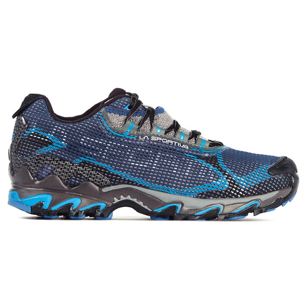 LA SPORTIVA 16Q-BB Mens Wildcat 2.0 GTX Black and Blue Running Shoes