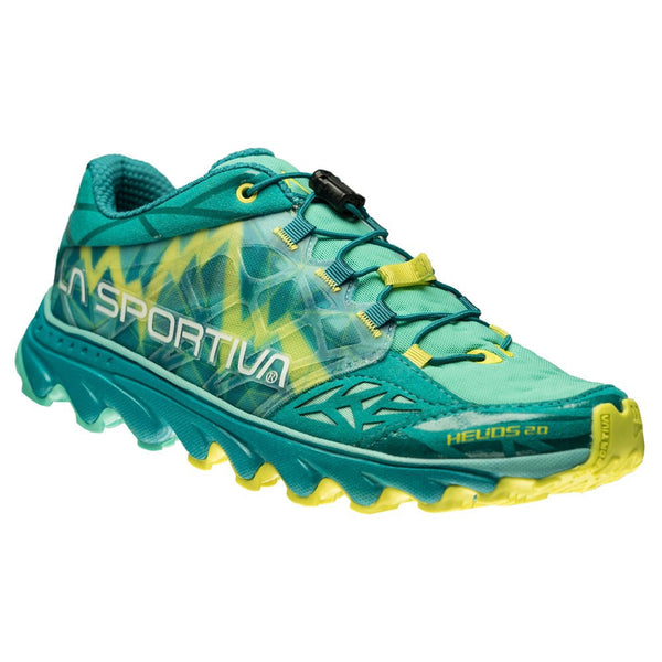 LA SPORTIVA 36B-608609 Womens Helios 2.0 Emerald and Mint Running Shoes