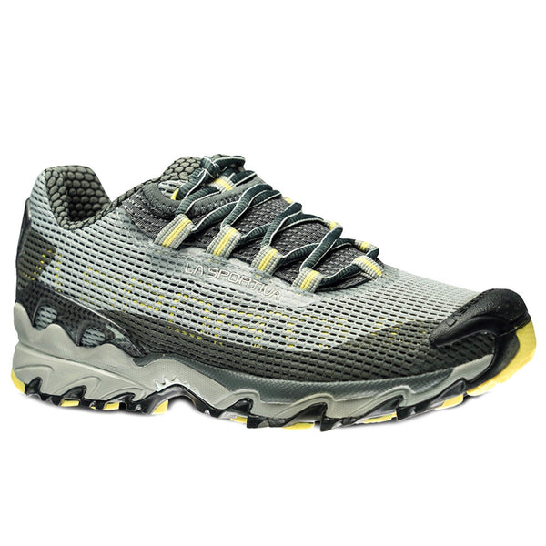 LA SPORTIVA 537-901104 Womens Wildcat Gray and Butter Running Shoes