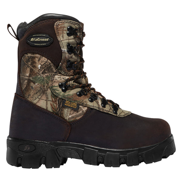 LACROSSE 500028 Game Country 10in 1600G Realtree AP Boots