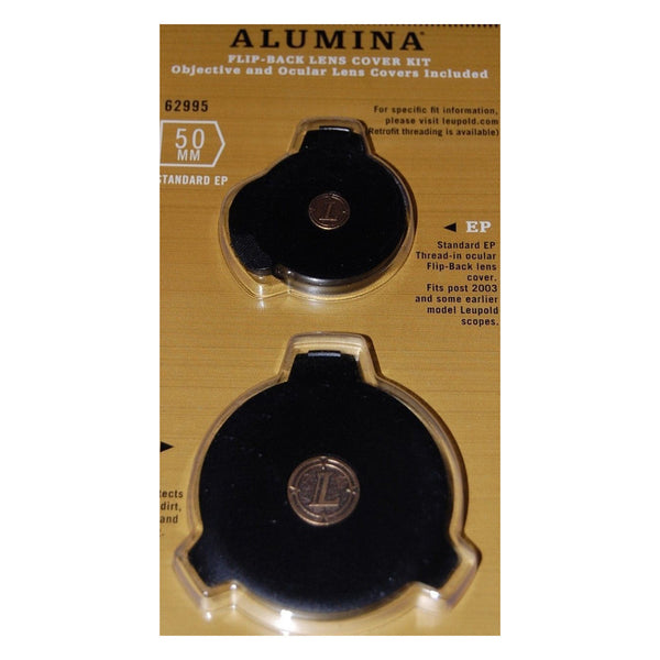 LEUPOLD Alumina 50mm & Standard EP Flip Back Lens Cover Kit (62995)