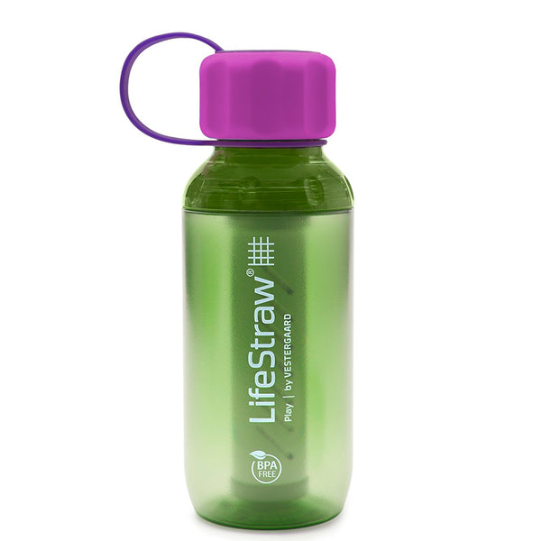 LIFESTRAW LSPY01LI01 Play Lime Water Filter Bottle